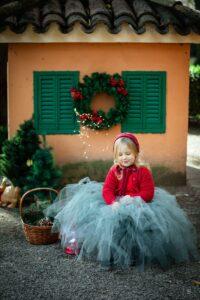 ritratto fotografico natalizio